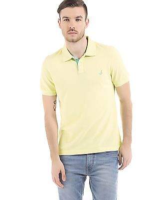 Bayisland Printed Back Pique Polo Shirt