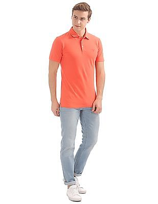 Gant Linen Mix Pique Short Sleeve Rugger Polo