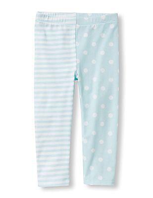 The Children's Place Toddler Girl Dots And Stripe Split Print Leggings