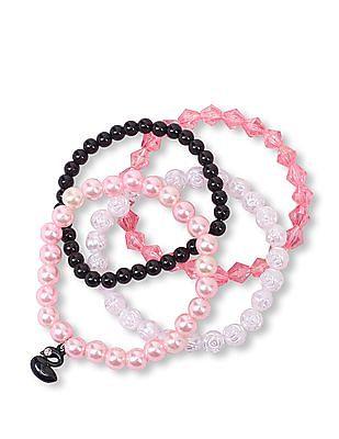 The Children's Place Girls Assorted Ribbon Bracelet 4-Pack