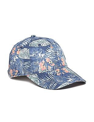 Flying Machine Printed Cotton Cap
