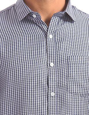 Excalibur Jacquard Cotton Shirt