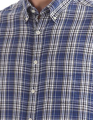 Gant Windblown Oxford Plaid Fitted Button Down Shirt
