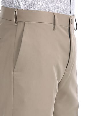 Excalibur Classic Fit Flat Front Trousers