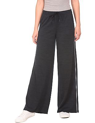 Aeropostale Drawstring Waist Heathered Lounge Pants