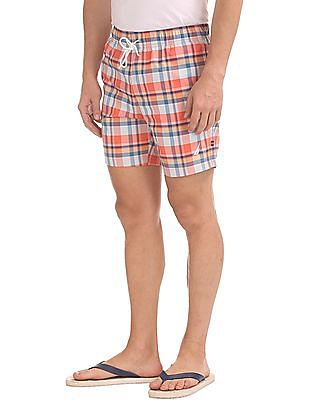 Nautica Coastal Beach Madras Shorts