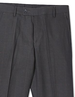 Arrow Slim Fit Check Trousers