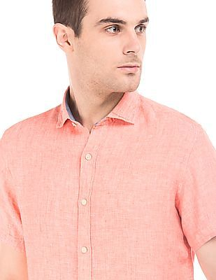 Nautica Regular Fit Linen Shirt