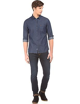 Flying Machine Rinsed Slim Tapered Fit Jeans