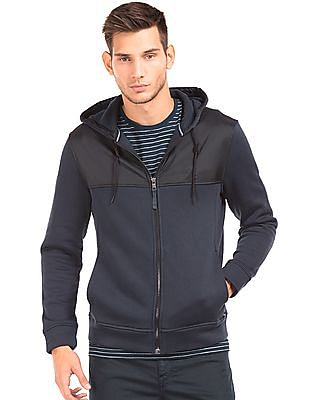 Nautica Panelled Hooded Jacket