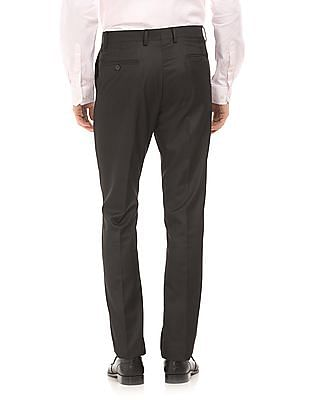 Arrow Flat Front Tapered Fit Trousers