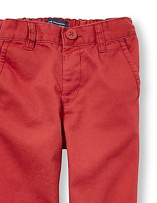 The Children's Place Toddler Boy Solid Twill Skinny Chino Pants