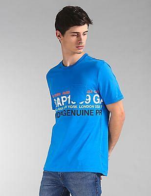 GAP Short Sleeve Worldwide Logo T-Shirt