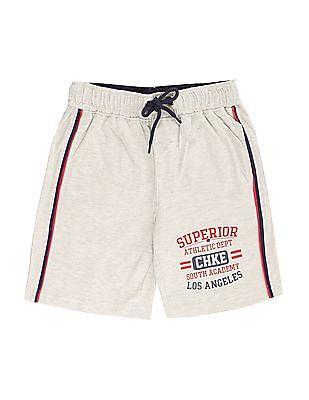 Cherokee Boys Heathered Knit Shorts