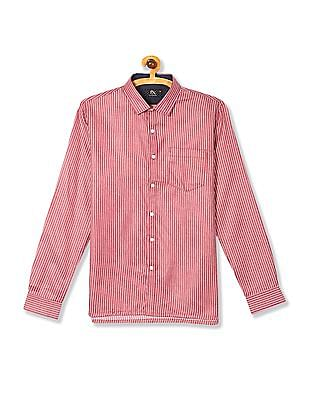 Excalibur Long Sleeve Striped Shirt