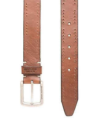 Flying Machine Small Punch Leather Belt