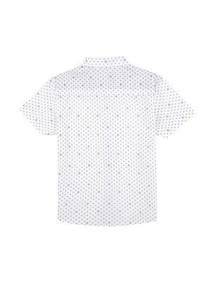 Donuts Boys Bow Tie Printed Shirt