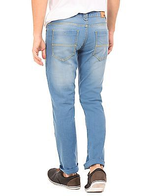 Newport Low Rise Stone Wash Jeans
