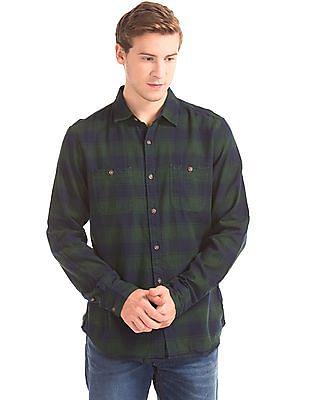 GAP Buffalo Check Flannel Shirt
