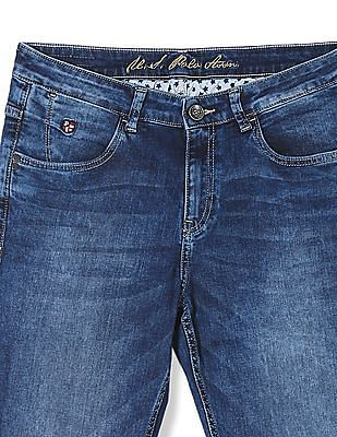 U.S. Polo Assn. Women Skinny Fit Washed Jeans