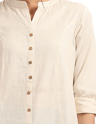 Anahi Panelled Cotton Kurta