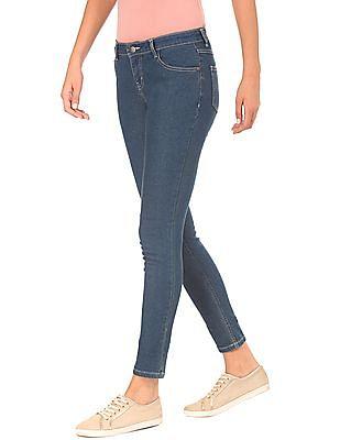 Newport Stone Wash Skinny Jeans