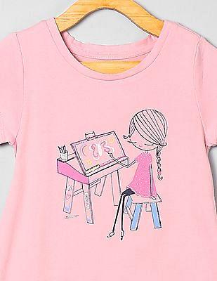 GAP Baby Printed Short Sleeve T-Shirt