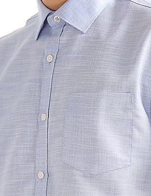Excalibur Regular Fit Patterned Shirt