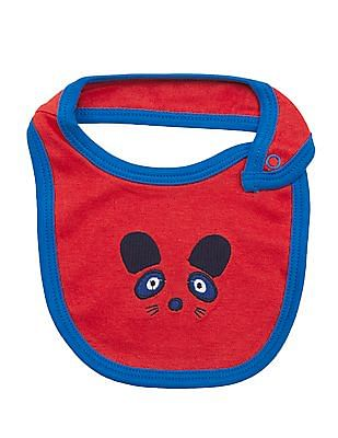 Donuts Unisex Kids Assorted Bibs - Pack of 5