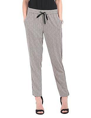 Nautica Chevron Print Knitted Pants