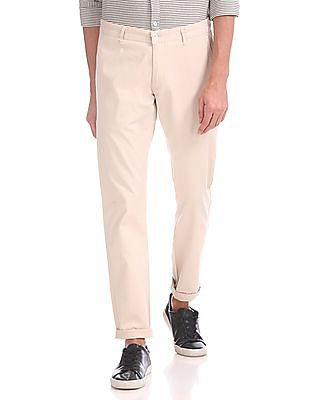 Roots by Ruggers Slim Fit Mid Rise Trousers