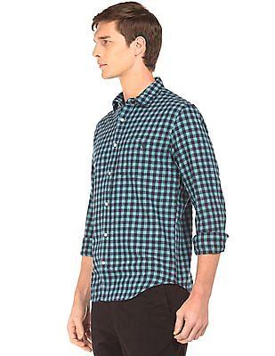 Aeropostale Regular Fit Plaid Shirt