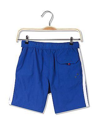 U.S. Polo Assn. Drawstring Waist Solid Shorts