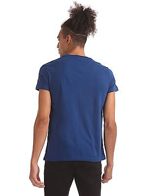 Aeropostale Printed Pocket Short Sleeve T-Shirt
