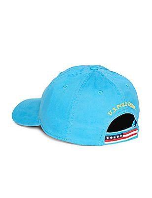U.S. Polo Assn. Kids Boys Brand Logo Twill Cap