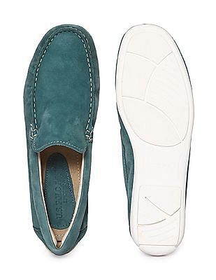 U.S. Polo Assn. Contrast Sole Suedette Loafers
