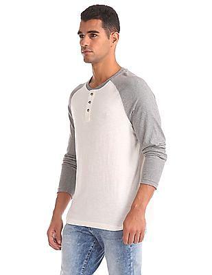 Aeropostale Regular Fit Henley T-Shirt