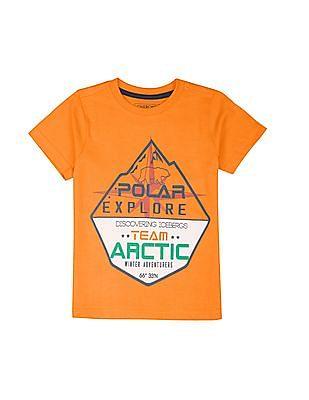Cherokee Boys Graphic Print T-Shirt