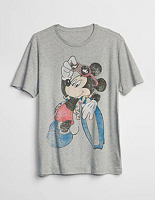 GAP Mickey Graphic Short Sleeve T-Shirt
