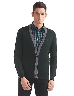 Arrow Sports Regular Fit Solid Cardigan