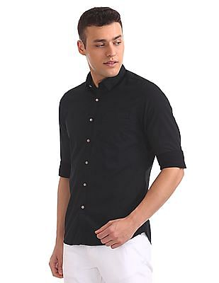 Flying Machine Standard Fit Dot Print Shirt