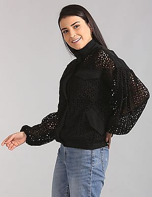GAP Eyelet Lace Jacket
