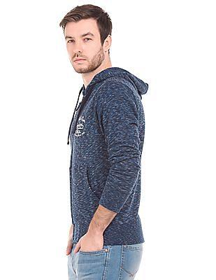 U.S. Polo Assn. Denim Co. Space Dyed Hooded Sweatshirt