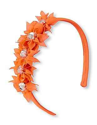 The Children's Place Girls Chiffon Flower Headband