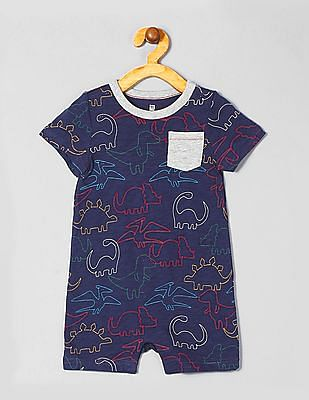 GAP Baby Short Sleeve Printed Bodysuit