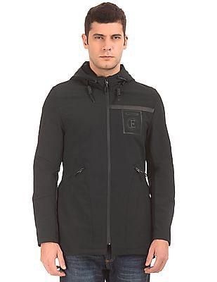 Ed Hardy Hip Length Hooded Jacket