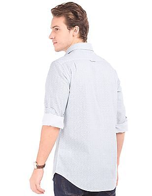 Gant Fitted Star Print Shirt