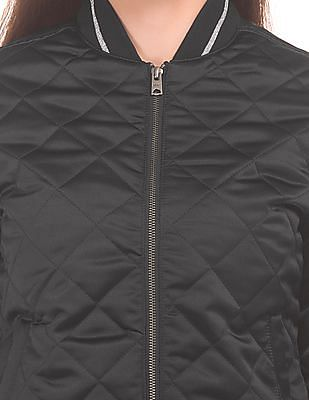 Aeropostale Quilted Bomber Jacket