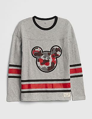 GAP Boys Disney Mickey Mouse Football Jersey