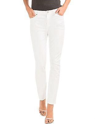 GAP Women White Authentic 1969 True Skinny Jeans